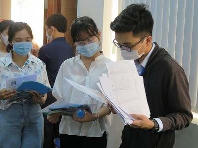 DLA nhận hồ sơ đăng ký xét tuyển  phương thức xét tuyển kết quả thi Đánh giá năng lực (ĐHQG Tp.HCM)